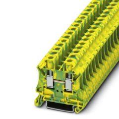 Clema sir PE UT 6-PE, 6mm2, Galben/Verde, A, conexiune surub, Phoenix Contact