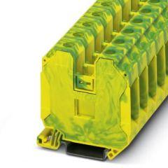 Clema sir PE UT 35-PE, 35mm2, Galben/Verde, A, conexiune surub, Phoenix Contact