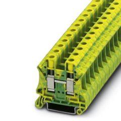 Clema sir PE UT 10-PE, 10mm2, Galben/Verde, A, conexiune surub, Phoenix Contact