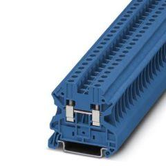 Clema sir UT 4 BU, 4mm2, Albastru, 32A, conexiune surub, Phoenix Contact