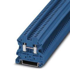 Clema sir UT 2.5 BU, 2.5mm2, Albastru, 24A, conexiune surub, Phoenix Contact