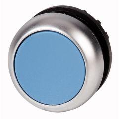 Buton cu retinere albastru M22-DR-B, serie M22, Eaton