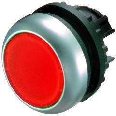 Buton revenire iluminabil rosu M22-DL-R, serie M22, Eaton