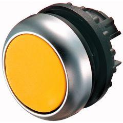 Buton retinere iluminabil galben M22-DRL-Y, serie M22, Eaton