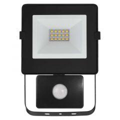 Proiector LED cu senzor 10W Lumina neutra(4000K), IP54, A+, Emos Hobby Slim