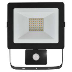 Proiector LED cu senzor 30W Lumina neutra(4000K), IP54, A+, Emos Hobby Slim