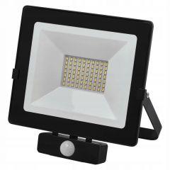 Proiector LED cu senzor 50W Lumina neutra(4000K), IP54, A+, Emos Hobby Slim