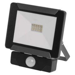 Proiector LED cu senzor 10W Lumina neutra(4000K), IP54, A+, Emos IDEO