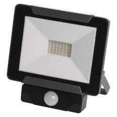 Proiector LED cu senzor 20W Lumina neutra(4000K), IP54, A+, Emos IDEO
