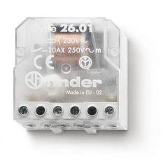 Releu pas cu pas cu montaj in doza, 3 stari, 2NO, 230V AC,  Finder