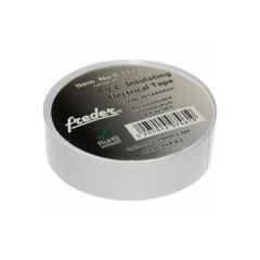 Banda izolatoare PVC, alb, latime 19mm, 20m, Freder