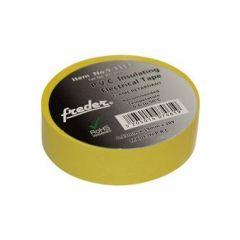 Banda izolatoare PVC, galben, latime 19mm, 20m, Freder