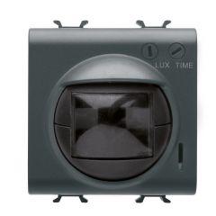 Senzor de miscare si lumina, modular, 2M, 16A(AC1), Negru, Gewiss Chorus
