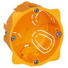 Doza gips-carton, 1P, adancime 40mm, Legrand