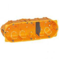 Doza gips-carton, 3P, adancime 40mm, Legrand