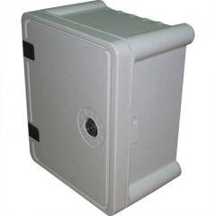 Cofret/panou polyester(premix) 220x330x170mm, usa opaca, IP65