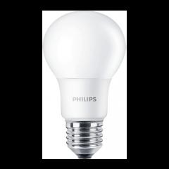 Bec LED bulb E27, 5W eq. 40W, lumina rece, A60, Philips