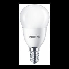 Bec LED bulb E14, 7W eq. 60W, lumina rece, P48, Philips