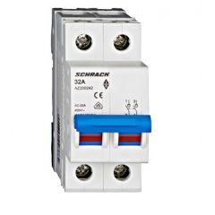 Comutator principal modular 32A, 2-poli, Schrack