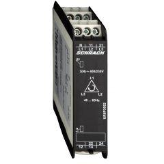 Releu supraveghere trifazat, 1CC, 3(N)-400/230Vac, Schrack