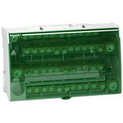 Repartitor etajat cu surub 4P x 12 gauri, 160A, Schneider Electric