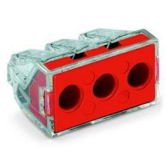Conector doza Wago cu arc 3x 2.5 - 6mm2