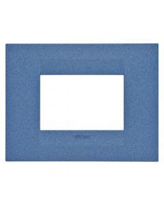Rama 3M, orizontal, tehnopolimer, Albastru, Gewiss Chorus Geo