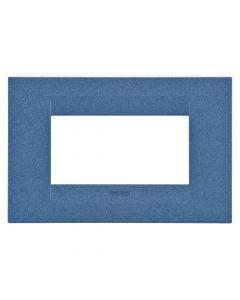 Rama 4M, orizontal, tehnopolimer, Albastru, Gewiss Chorus Geo