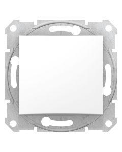 Intrerupator scara, alb, fara rama, Schneider Electric, Sedna